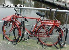 'bicyclette bien protegee'