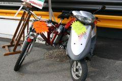 'scooter electrique.'