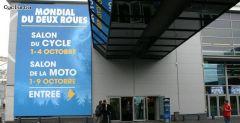 'Petit Hall pour la section vélo du salon du 2 roue'